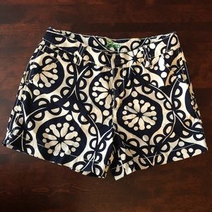 Gap Kids blue and white printed shorts size 14